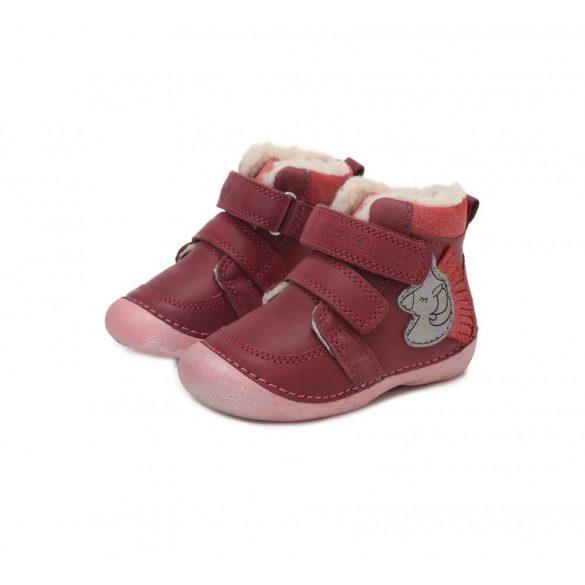 DD Step Kislány téli bélelt cipő #015-189E