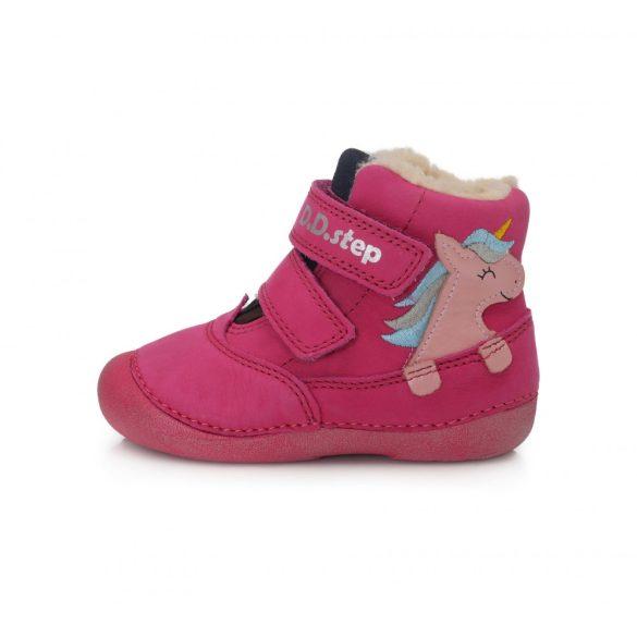 DD Step kislány téli bélelt csizma #015-968B