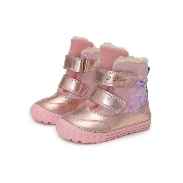 DD Step kislány téli bélelt csizma #029-932