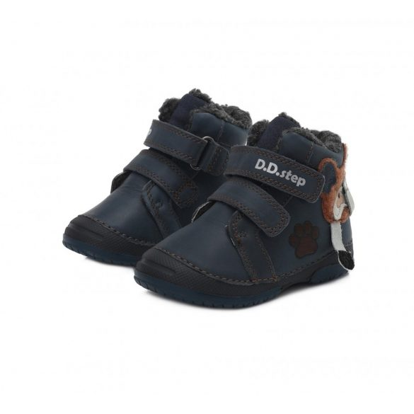 DD Step kisfiú téli bélelt cipő #038-867
