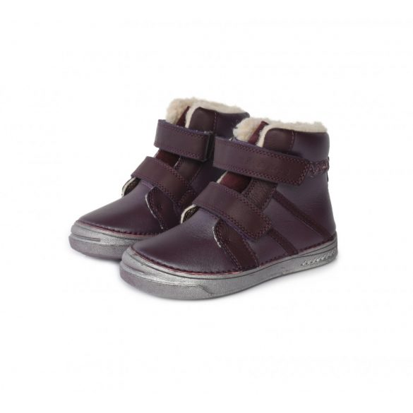 DD Step kislány téli bélelt cipő #040-446A