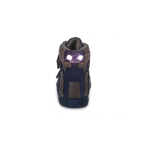 DD Step kisfiú világítós téli bélelt cipő #049-359A
