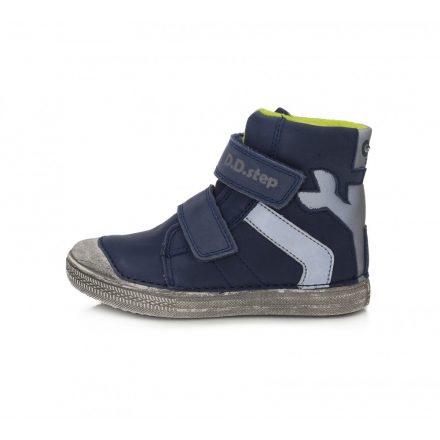 DD Step kisfiú világítós téli bélelt cipő #049-359B