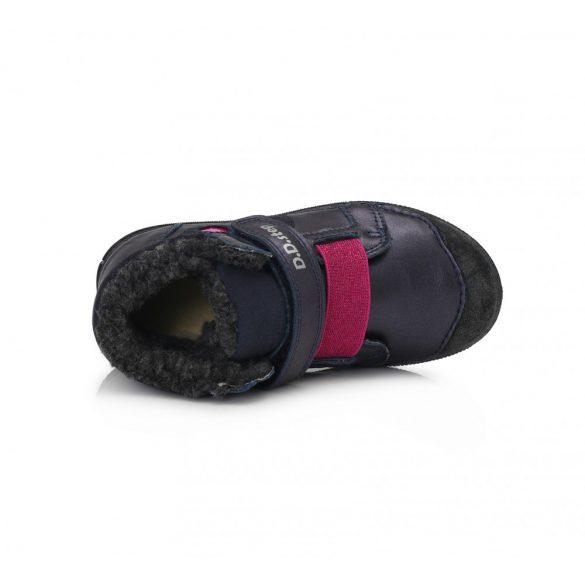 DD Step Kislány világítós téli bélelt cipő #049-762A