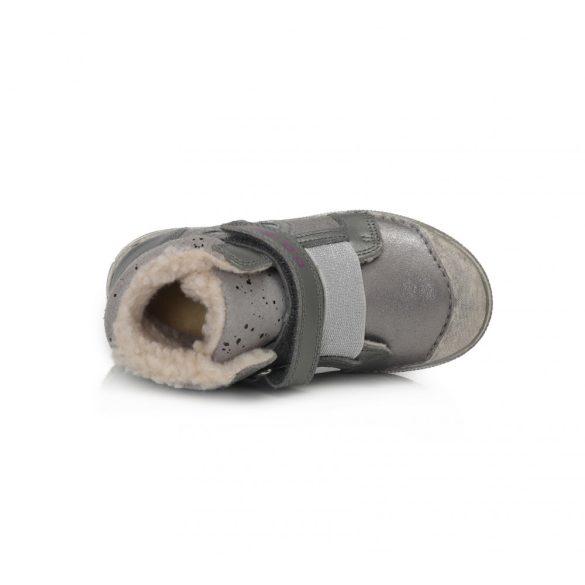 DD Step Kislány világítós téli bélelt cipő #049-762