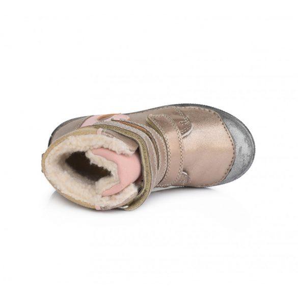 DD Step Kislány téli bélelt cipő #049-975A