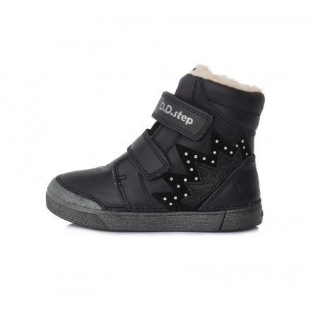 DD Step kislány téli bélelt cipő #068-286A