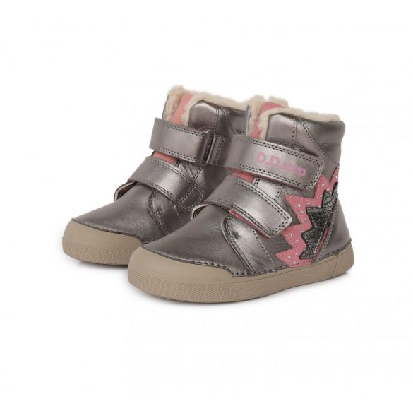 DD Step Kislány téli bélelt cipő #068-286B