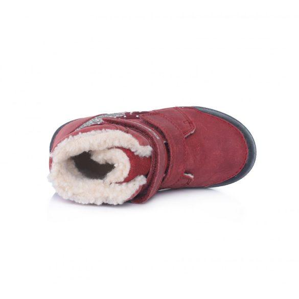 DD Step kislány téli bélelt cipő #068-286