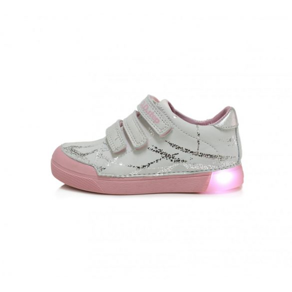DD Step Világító talpú kislány cipő #068-470