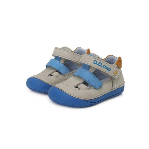 """DD Step kisfiú """"Barefoot"""" nyitott gyerekcipő #070-698A"""