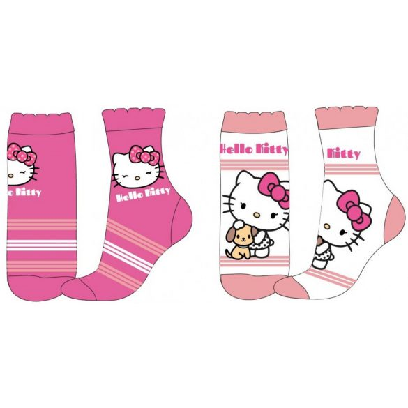 Hello Kitty gyerek zokni – 2pár