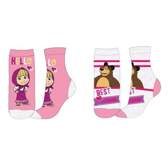 Mása és a medve gyerek zokni – 2pár