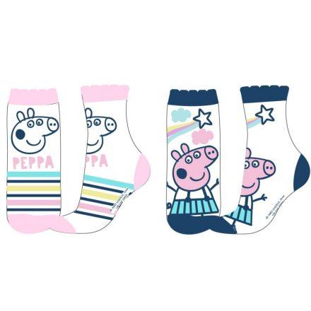 Peppa malac gyerek zokni – 2pár