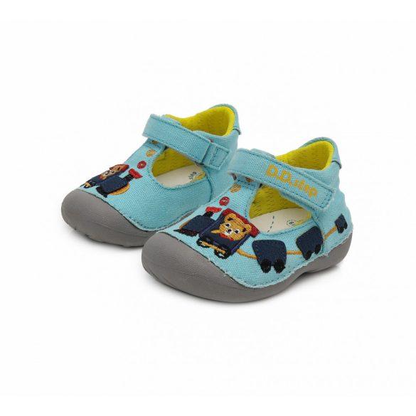 DD Step kisfiú nyitott vászoncipő #C015-224A