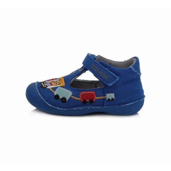 DD Step kisfiú nyitott vászoncipő #C015-224_19