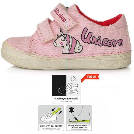 DD Step kislány színváltós vászoncipő #C040-557