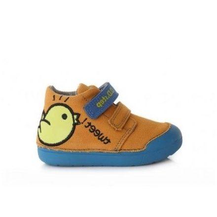 """DD Step kisfiú """"Barefoot"""" vászoncipő #C066-617A"""