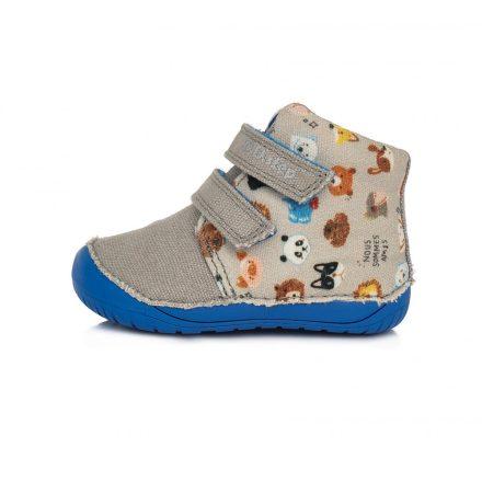 """DD Step kisfiú """"Barefoot"""" vászoncipő #C070-816A"""