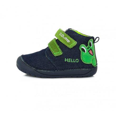 "DD Step kisfiú ""Barefoot"" vászoncipő #C070-84C"