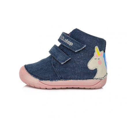"""DD Step kislány """"Barefoot"""" vászoncipő #C070-958"""