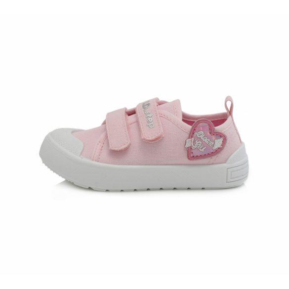 DD Step kislány vászoncipő #CSG-159
