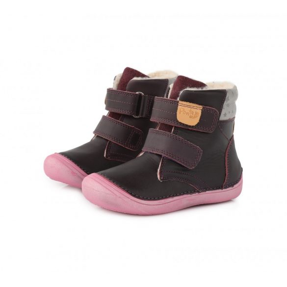 Ponte20 Szupinált kislány téli cipő #DA03-1-825C