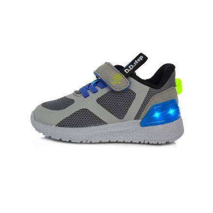 DD Step Vízlepergető kisfiú sportcipő világító talppal #F61-243