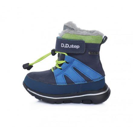 DD Step kisfiú vízálló téli bélelt cipő #F705-483B
