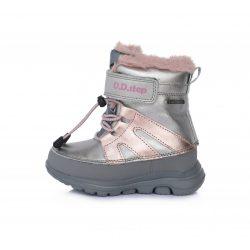 DD Step kislány vízálló téli bélelt cipő #F705-483