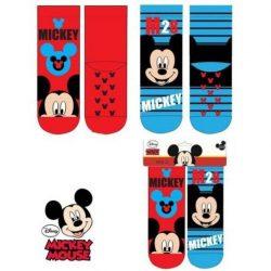 Mickey gyerek csúszásgátlós vastag zokni – 2pár